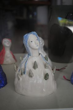 I'm spending quite some days in Barcelona this summer, so I decided to make the most of it and visit my friend Marta Claret in Cambrils (Ta. Ceramic Workshop, Arts And Crafts, Art Crafts, Outsider Art, Clay, Ceramics, Sculpture, Studio, Mountain