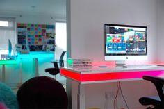 Futuristic Table ~ http://qo-home.com/smart-and-futuristic-table-design/