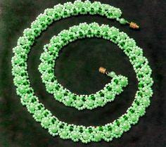 patrón libre para moldeado hermoso collar de menta Tierno | Magic Beads