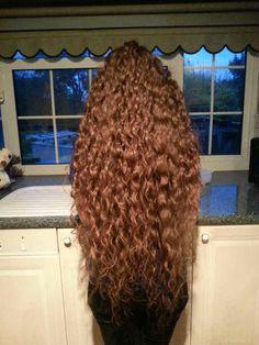 Post with 61643 views. Curls For Long Hair, Super Long Hair, Long Curly Hair, Big Hair, Curly Hair Styles, Curly Girl, Beautiful Long Hair, Gorgeous Hair, Amazing Hair