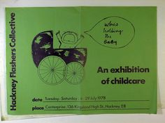 Hackney Flashers Collective. Exhibition Poster, East London, Flyers, Posters, Collection, Ruffles, Poster, Postres, Banners