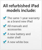 iPad 3rd Gen (Retina display) 16GB Black $379