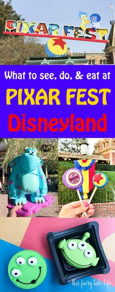 Pixar Fest at Disney