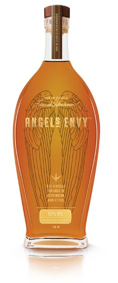 Rye finished in Caribbean Rum Casks | Angel's Envy Another one of my husband's favorites. I am not a big bourbon whiskey person and even I like this one. Maybe it is because I like rum....