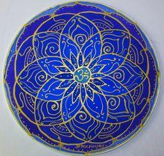 Throat chakra mandala art, Throat chakra, chakra art, blue mandala, meditation…