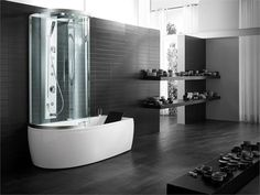 The ARMONYA bath with shower