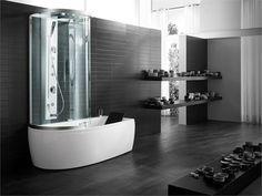 The ARMONYA bath with shower