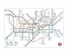 Anglotopia Imports Alert: The Official London Underground Tube Map - Anglotopia Exclusive