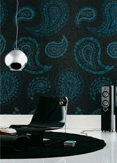 Paisley Patterns for Interiors and Wall Design