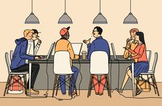 Nostalgia and modern life go hand in hand in the work of illustrator Janne Iivonen