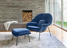 Modern Living Room Lounge Chairs | Knoll Living Room Modern, Living Room Chairs, Living Room Furniture, Lounge Chairs, Office Chairs, Modern Furniture, Dining Chairs, Eero Saarinen, Womb Chair