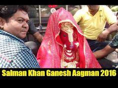 Salman Khan's Ganpati Aagman | Ganesh Utsav 2016.