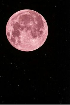 Oh my Gosh a Pink Moon I love it...Thank you God for your beauty