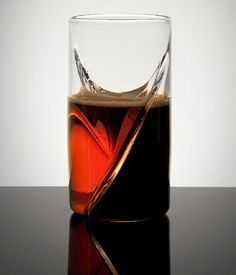 Perfect for any beer lover, the Dual Beer Glass will make the perfect Black and Tan