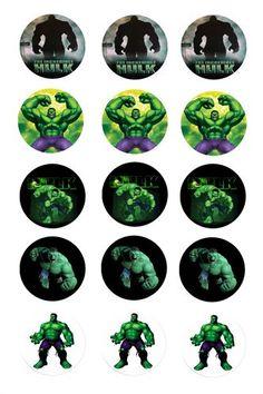 Michele's Unique Bowtique - Bottlecap images - Jacksonville, FL 32220, FL: Bottle Cap Projects, Bottle Cap Crafts, Diy Bottle, Hulk Birthday Parties, Diy Birthday, Bottle Cap Art, Bottle Cap Images, Hulk Cupcakes, Incredible Hulk Party