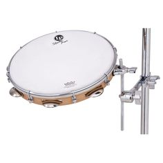 "Incorporated by Stanton Moore as an essential element of his unique drum kit set up, this 12"" tunable pandeiro fits nicely in a snare stand or the Latin Percussion Super Mount"
