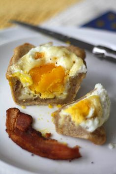 Baked egg cups from Artisan Bread in 5 Minutes a Day
