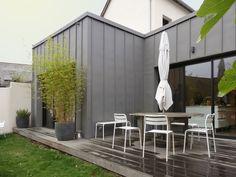 Extension en zinc | briand - renault | Architectes