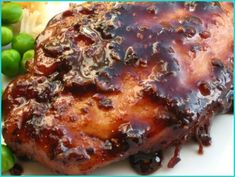 Raspberry Balsamic Chicken - Cooking Light recipe I've been making since the 90s