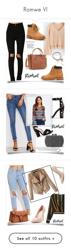 """""""Romwe VI"""" by mirelaaljic ❤ liked on Polyvore featuring Ciaté, Burberry and Memo Paris"""