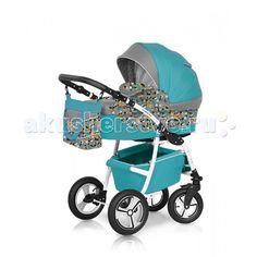 Коляска-люлька Expander Lumina  Коляска-люлька Expander Lumina предназначена для детей с рождения и до 3-х лет. Стильные расцветки материала с добавлением орнаментных тканей.     В комплект коляски входит спальная люлька для новорожденного и прогулочный блок для подросшего малыша, которые можно устанавливать по ходу движения или против хода движения. Люлька коляски  комфортная и удобная, сделана внутри из 100 % хлопка. Дно люльки – жесткое, это очень важно для правильного формирования…