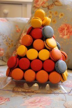 A fogueira de São João representada por macarons em uma festa junina!