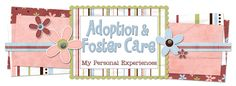 Adoption/ Foster care Blog