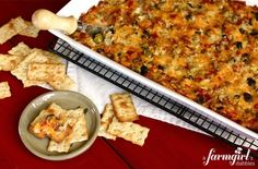 Ooey Gooey Pizza Dip - i want to put my whole face in this. by milagros