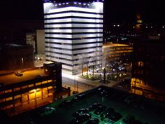 Charleston WV At Night
