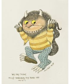 Maurice Sendak - Wild Thing Balloon