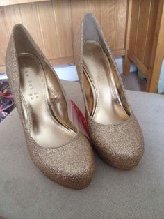 gold high heels | eBay