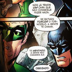 """18 curtidas, 2 comentários - Quando Der Tempo (@quandodertempo) no Instagram: """"O que só OS NOVOS 52 podem fazer por você: Batman versão café-com-leite. Esse é o tom do reboot que…"""""""