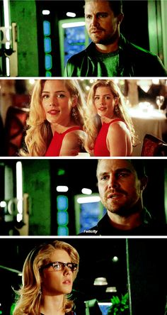 How much emotion he puts into her name (fun fact, this scene wasn't in the script. Stephen felt it was needed so he added it in #Olicity #Stemily )