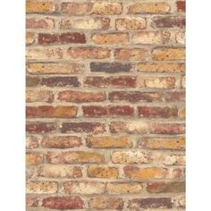 NextWall Red Faux Rustic Brick Peel and Stick Wallpaper – The Home Depot – Brick Wallpaper Red Brick Wallpaper, Peel And Stick Wallpaper, Vinyl Wallpaper, Faux Brick, Exposed Brick, Lining Dresser Drawers, Peelable Wallpaper, Tin Tiles, Visual Texture