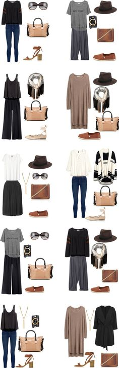 What to Wear in Barcelona, Spain Outfits 1-10. Entire Packing list is on the…