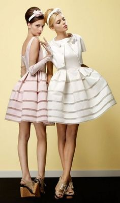These dresses are SO cute!!! Would be great bridesmaids dresses or a formal of some kind!!
