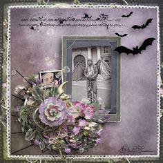 "kit "" Halloween Romance "" by Valentina's Creations"