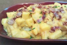 Make Ahead: Cheesy Bacon Potatoes Au Gratin http://www.tastefullysimple.com/lborres