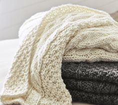 Chunky Cable Knit Throw: Get the Look for Less
