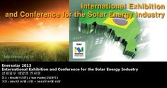 Enersolar 2013 International Exhibition and Conference for the Solar Energy Industry 상파울루 태양광 전시회