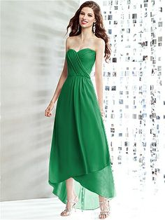 Social Bridesmaids Style 8139 http://www.dessy.com/dresses/bridesmaid/8139/ Shamrock Green. Please weigh in, ladies...