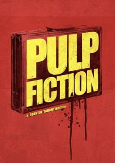 Pulp Fiction ~ Minimal Movie Poster by Ben Mcleod Minimal Movie Posters, Film Posters, Quentin Tarantino Films, Excellent Movies, Pulp Fiction Art, Glitch Wallpaper, Kino Film, Alternative Movie Posters, Film Serie