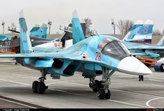 Russia - Air Force - Su-34 (RF-93822) By Sergey Chaikovskiy (SergeyL)
