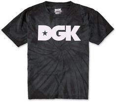 DGK Boys Logo Tie Dye Tee Shirt at Zumiez : PDP