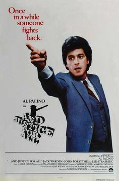 ...And Justice for All.  1979  Drama | Thriller | Crime  http://www.imdb.com/title/tt0078718/?ref_=fn_al_tt_1