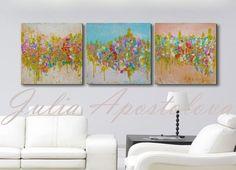 #60inch #OriginalPainting #Triptych #TriptychPainting #AbstractArt #HugeWallArt #Minimalist #ModernPainting #AbstractLandscape #PastelColours #PastelPainting #GoldPainting #Turquoisepainting #Art ##artforsale #buyers #artlovers #collectors by #JuliaApostolova