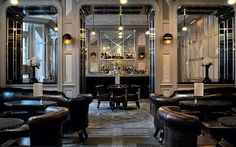 The Connaught Bar in London, designed by David Collins