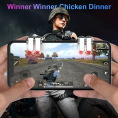 Trigger Pubg Mobile Controller Dzhostik Joystick For Cellular Smart Phone iPhone Android Gamepad Game Pad Dzhostiki Mobile Accessories, Battle Royale Game, Phone Games, Winner Winner Chicken Dinner, King Of Fighters, Mobile Legends, Games To Play, The Dreamers
