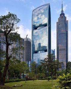 Pearl River Tower-  Skidmore, Owings & Merrill with Adrian D. Smith and Gordon Gill: Guangzhou, China