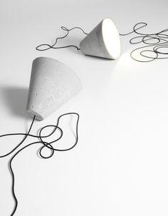 Matti Syrjälä - Sektori Concrete lamp